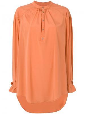 Рубашка Cosmopolitan A.F.Vandevorst. Цвет: желтый