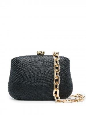 Декорированная сумка SERPUI. Цвет: черный