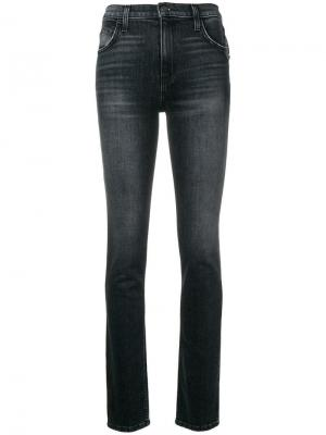 Slim fit jeans Current/Elliott. Цвет: черный