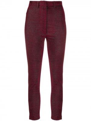 Укороченные брюки Ann Demeulemeester. Цвет: фиолетовый