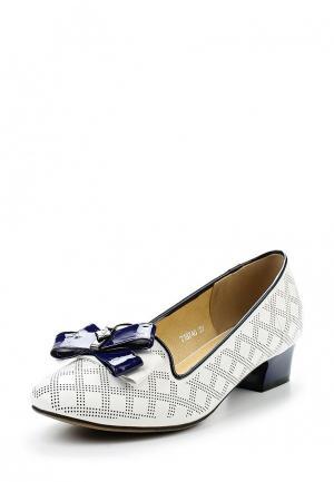 Туфли Ascalini. Цвет: белый