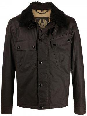 Вощеная куртка Patrol Belstaff. Цвет: коричневый