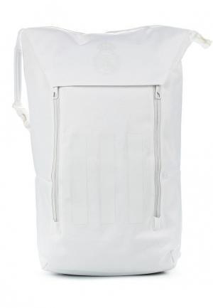 Рюкзак adidas Performance. Цвет: белый