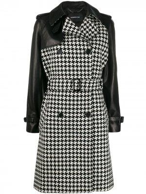 Двубортное пальто Barbara Bui. Цвет: черный