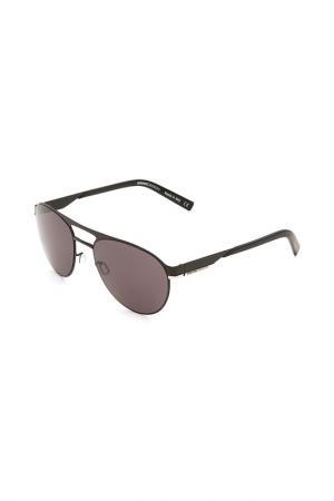 Очки солнцезащитные с линзами MOMODESIGN. Цвет: 02 черный