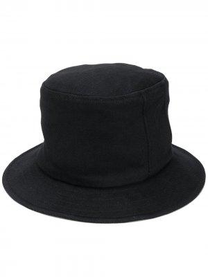 Высокая панама Yohji Yamamoto. Цвет: черный