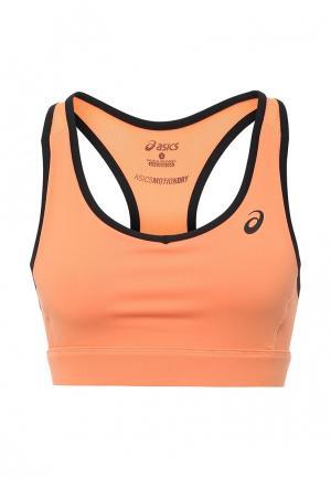 Топ спортивный ASICS. Цвет: оранжевый