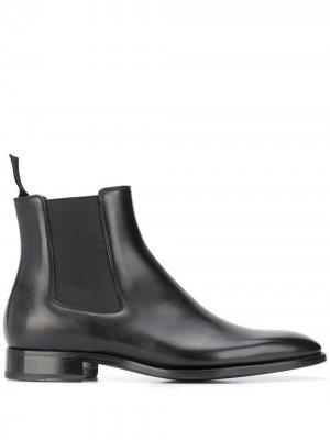 Ботинки челси с эластичными вставками Givenchy. Цвет: черный