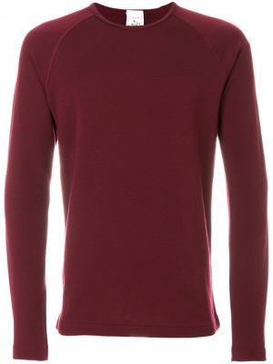 Пуловер с круглым вырезом Force S.N.S. Herning. Цвет: красный