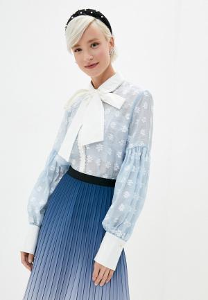 Блуза Sister Jane. Цвет: голубой