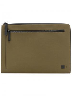 Сумка для ноутбука с молнией Troubadour. Цвет: зеленый