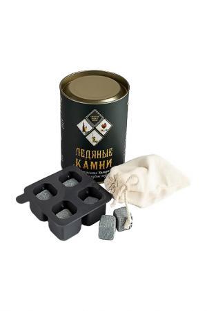Набор камней для виски ICE STONE. Цвет: серый
