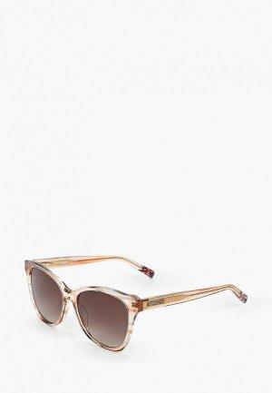 Очки солнцезащитные Missoni. Цвет: коричневый