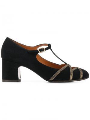 Туфли-лодочки Nit с Т-образным ремешком Chie Mihara. Цвет: черный