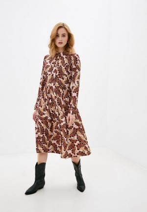 Платье Rich&Royal. Цвет: разноцветный