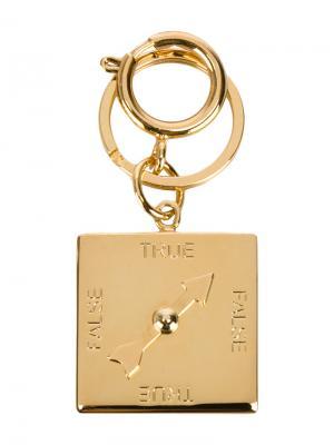 Брелок для ключей в виде детектора лжи Sophie Hulme. Цвет: металлический