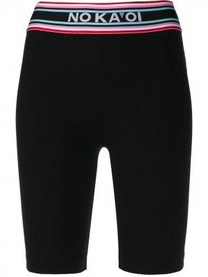 No Ka Oi спортивные шорты с логотипом Ka'. Цвет: черный