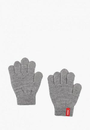 Перчатки Reima. Цвет: серый