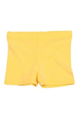 Шорты American Apparel. Цвет: желтый