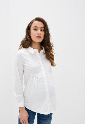 Рубашка Mamalicious. Цвет: белый