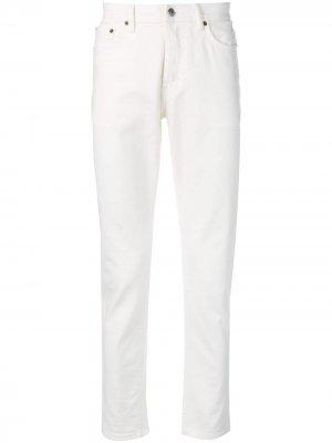 Зауженные джинсы River Acne Studios. Цвет: белый