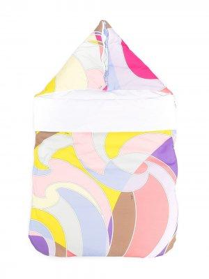 Конверт с абстрактным принтом Emilio Pucci Junior. Цвет: розовый