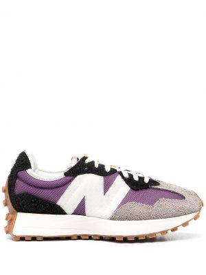 Кроссовки NB 327 New Balance. Цвет: фиолетовый