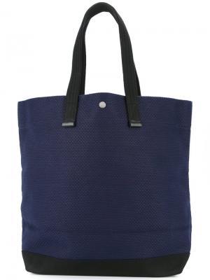 Большая сумка-шоппер Cabas. Цвет: синий
