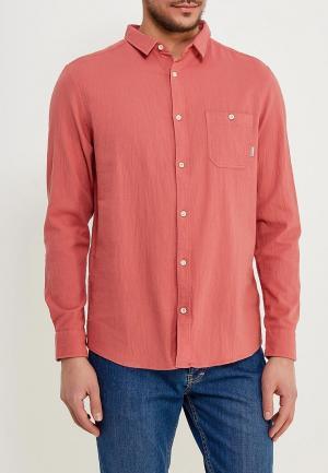 Рубашка Quiksilver. Цвет: розовый