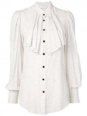 Блузка Ephemeraс плиссировкой Ginger & Smart. Цвет: белый