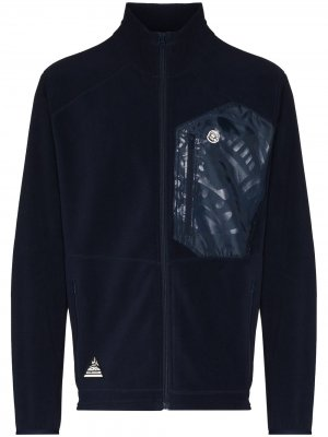Куртка на молнии с вышитым логотипом Billionaire Boys Club. Цвет: синий