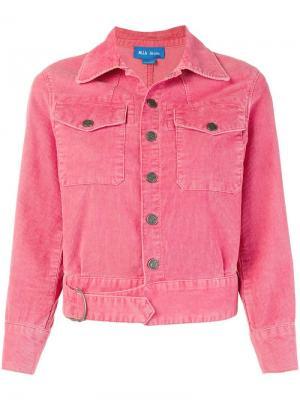 Куртка Paradise Mih Jeans. Цвет: розовый