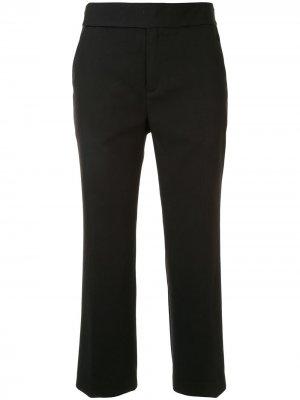 Укороченные брюки прямого кроя PortsPURE. Цвет: черный