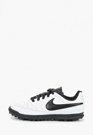 Шиповки Nike. Цвет: белый
