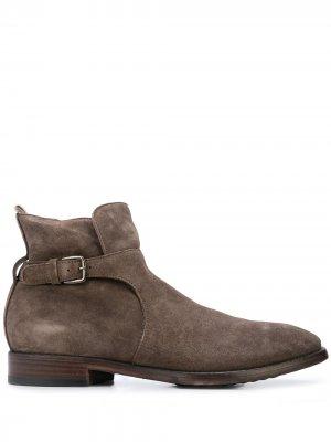 Ботинки с пряжкой Officine Creative. Цвет: коричневый