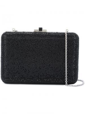 Мини-сумка прямоугольной формы Judith Leiber Couture. Цвет: чёрный