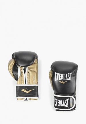 Перчатки боксерские Everlast. Цвет: черный