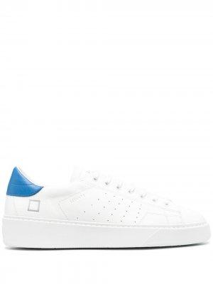 Кеды Levante на шнуровке D.A.T.E.. Цвет: белый
