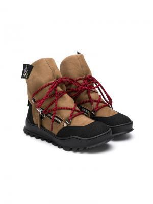 Tyson ankle boots Cinzia Araia Kids. Цвет: нейтральные цвета