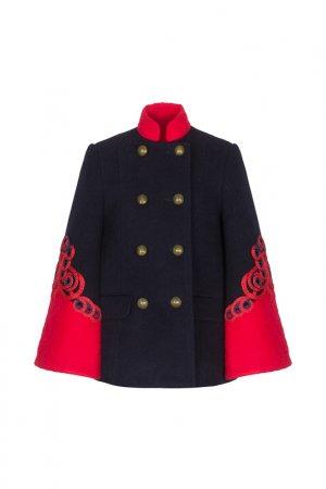 Пальто STILNYASHKA. Цвет: синий