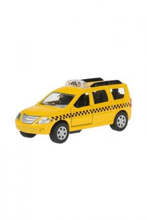 Машина ТЕХНОПАРК. Цвет: желтый