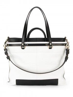 Объемная сумка PS19 Proenza Schouler. Цвет: белый
