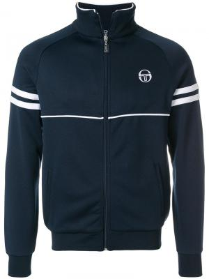 Zipped sports jacket Sergio Tacchini. Цвет: синий