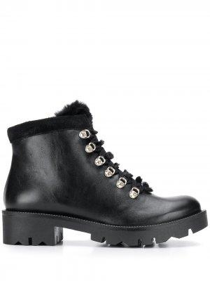 Ботинки на шнуровке Tosca Blu. Цвет: черный