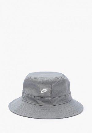 Панама Nike. Цвет: серый