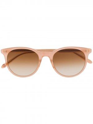 Солнцезащитные очки Marian Garrett Leight. Цвет: розовый