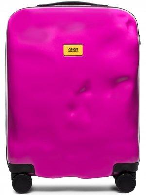 Чемодан Icon Crash Baggage. Цвет: розовый