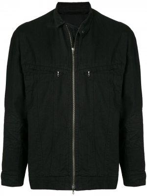 Джинсовая куртка Julius. Цвет: черный
