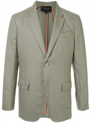Пиджак Western Shanghai Tang. Цвет: зеленый