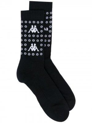 Носки с логотипом 10 CORSO COMO. Цвет: черный